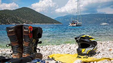 Motorradreise Griechenland Ionische Inseln