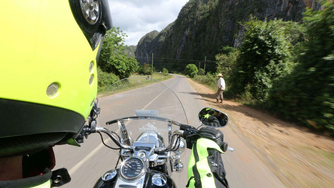 Motorradreise Kuba