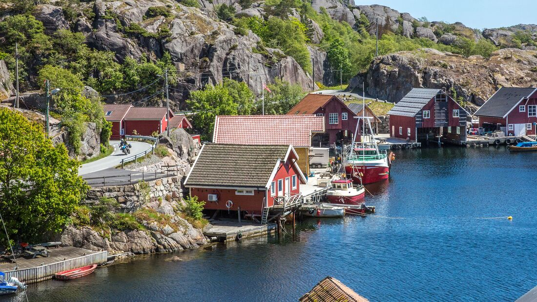 Motorradreise Norwegen Suednorwegen