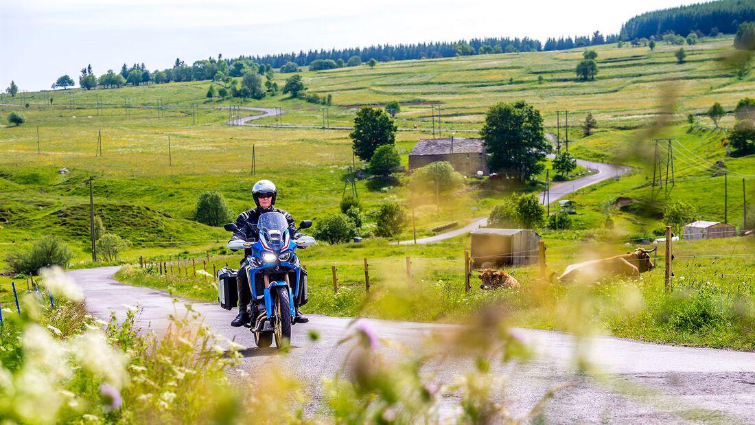 Motorradreise in Frankreich