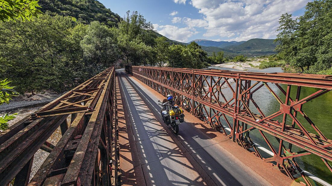 Motorradreise zentrales Griechenland