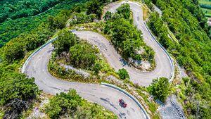 Motorradtour Ain Frankreich