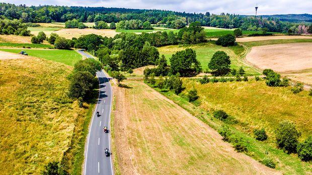 Motorradtour Mittelgebirge