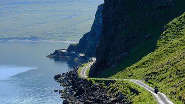 Motorradtour Schottland Hebriden Motorradreise