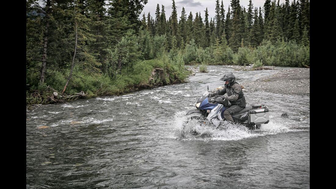 Motorradtour durch Alaska mit SW-Motech