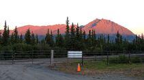 Motorradtour durch Alaska mit SW-Motech Clearwater Mountain Lodge