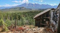 Motorradtour durch Alaska mit SW-Motech McCarthy Kupferwerk