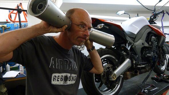 Motorräder Lautstärkeregelung ab 2024