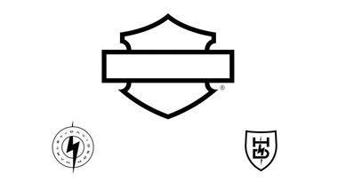 Neue Logos von Harley-Davidson.