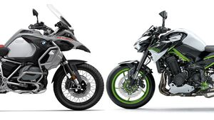 Neuzulassungen März 2021 BMW R 1250 GS Kawasaki Z 900