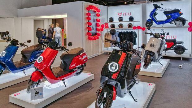Niu-Store in Bremen.