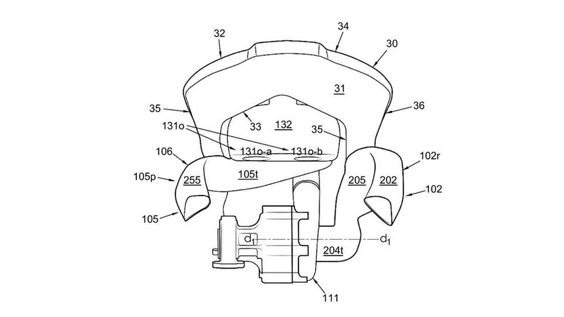 Norton Superlight SS Kompressor Patentzeichungen