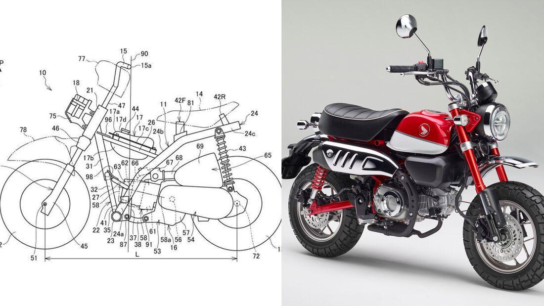 Patent: Honda Monkey.