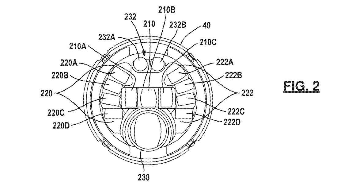 Patent Indian Kurvenlicht+ Radar