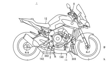 Patent Yamaha Turbo Triple