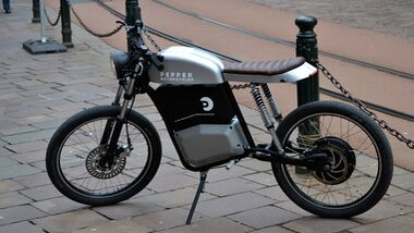 Pepper Motorcycles Elektromoped