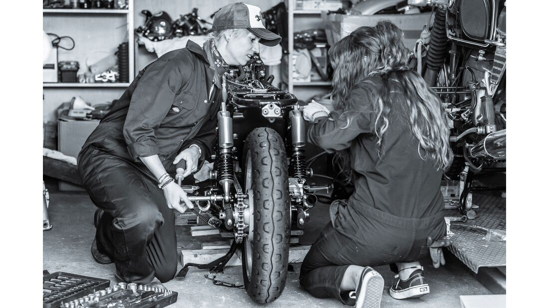Petrolettes 2019 Wrench Off Customizing-Wettbewerb
