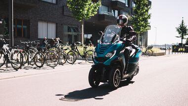 Peugeot Metropolis 400 Allure Fahrbericht