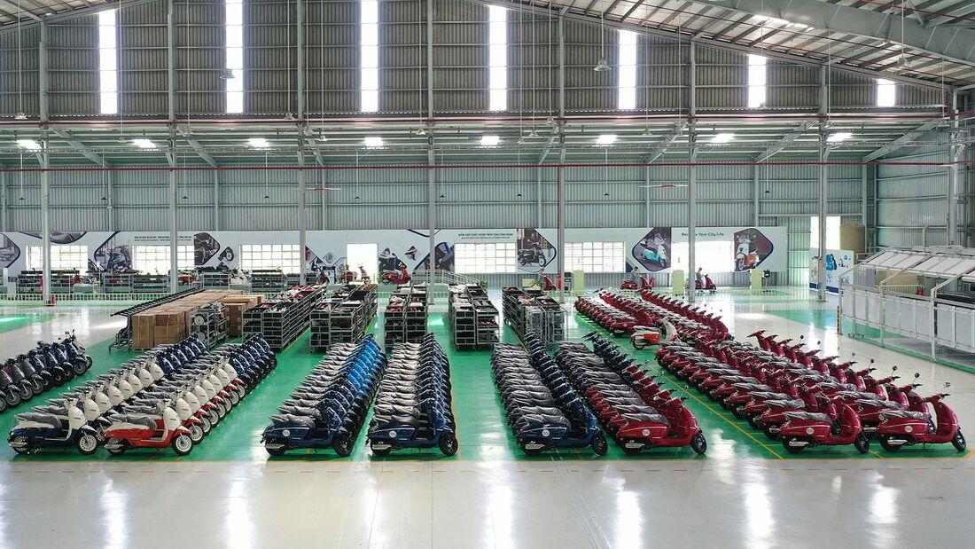 Peugeot Motorcycles Produktion Vietnam