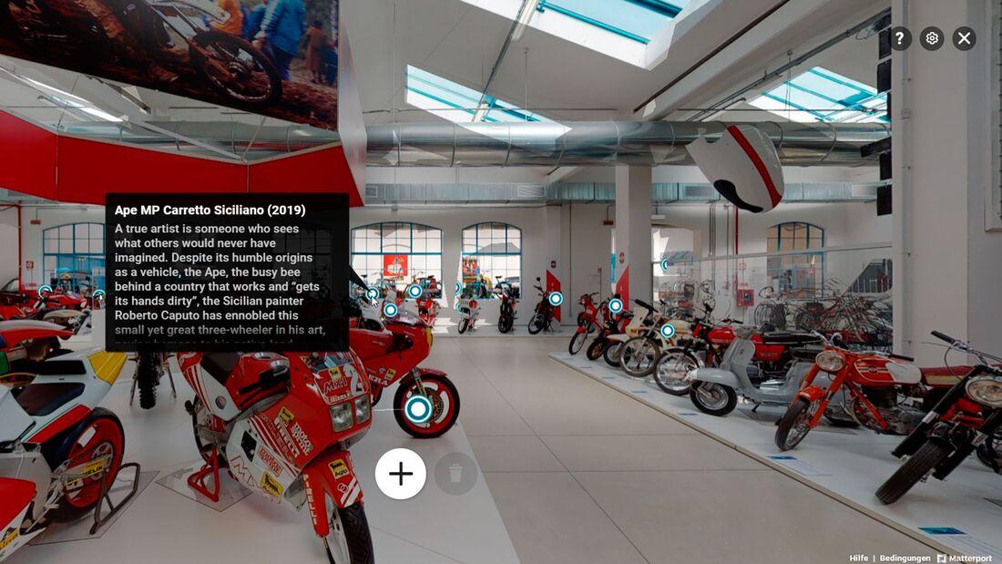 Piaggio-Museum virtuell