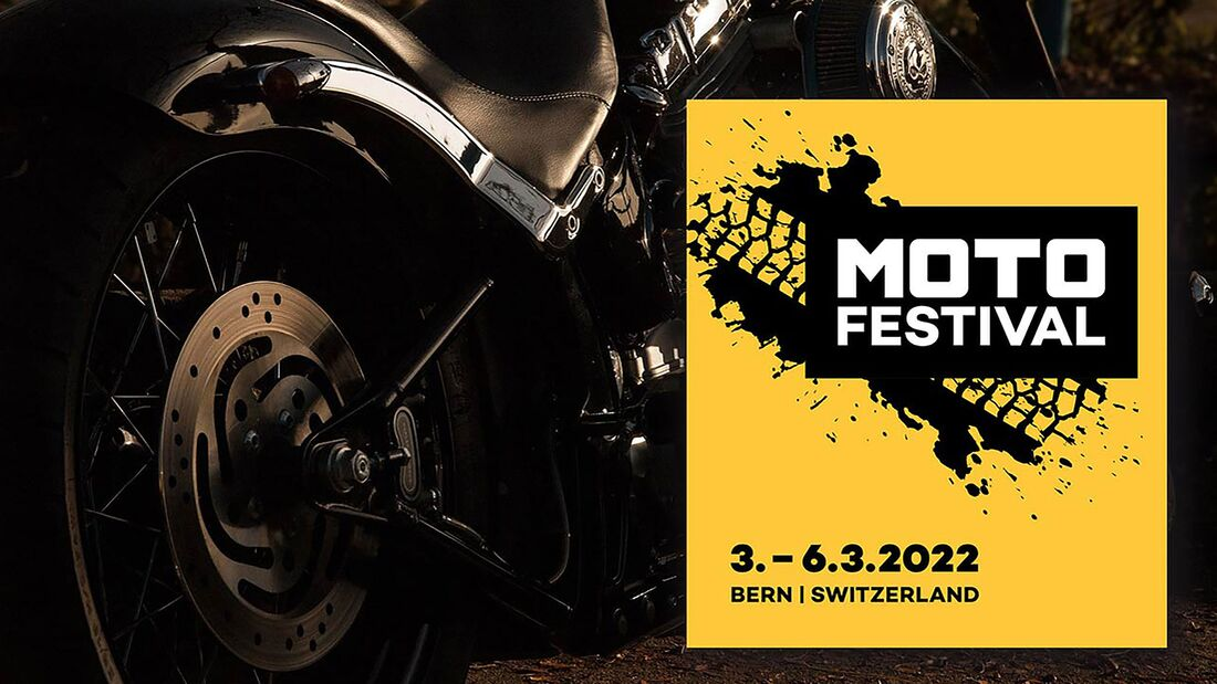 Plakat Moto Festival Schweiz 2022