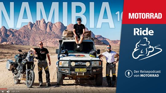 Podcast Aufmacher MOTORRAD Ride Folge 7 Namibia
