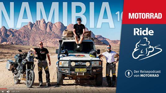 Podcast Aufmacher MOTORRAD Ride Folge 7 Namibia