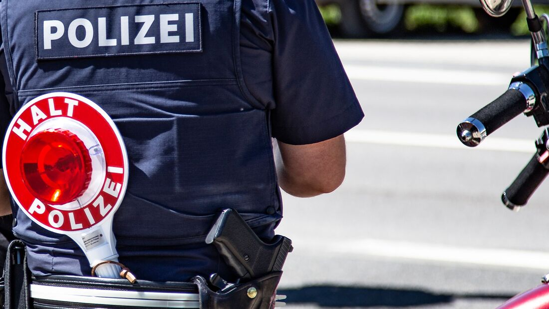 Polizei-Kontrolle