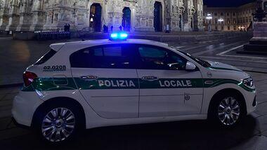 Polizei Mailand Polizeiauto
