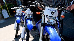 Polizei von Northants Yamaha Crosser