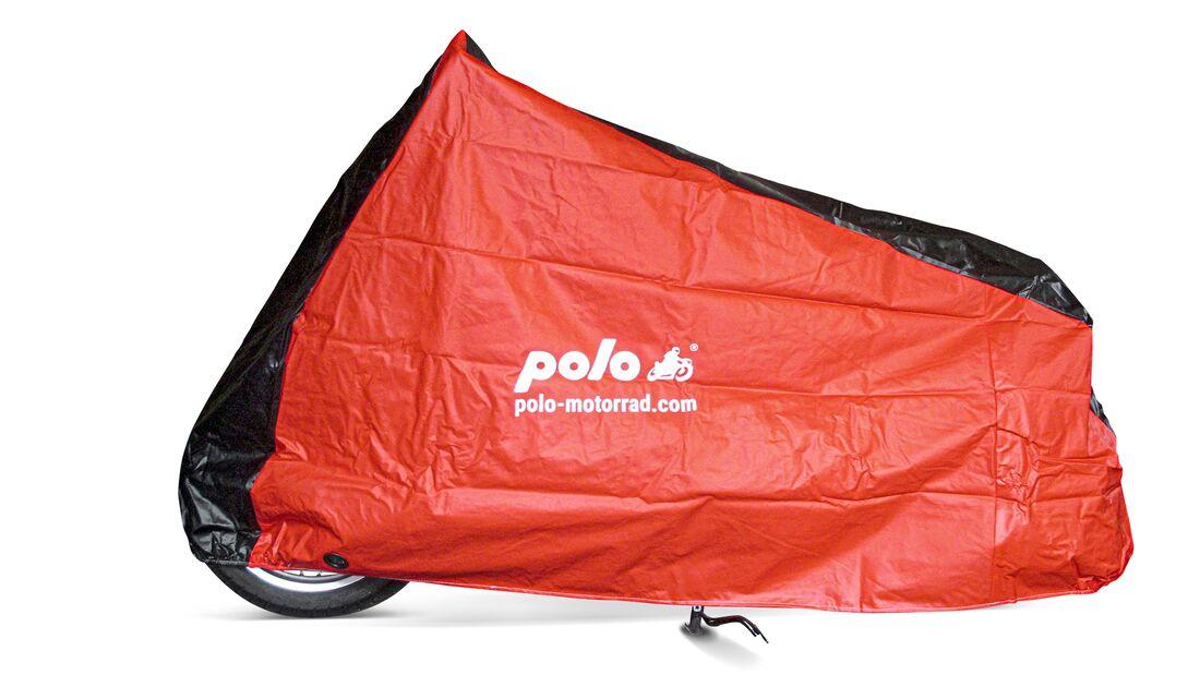Polo Outdoor-Abdeckplane Rot/Schwarz.
