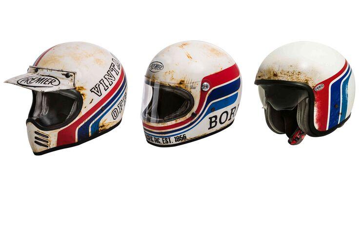 Premier Retro-Helme