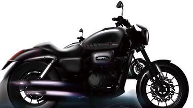 QJ Motor SRV300 kleine Harley-Davidson