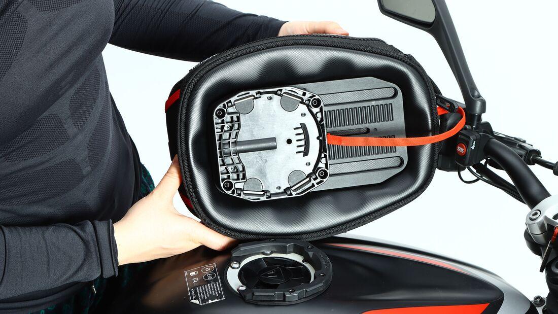 Quick-Lock Tankrucksack Schnellverschluss Test