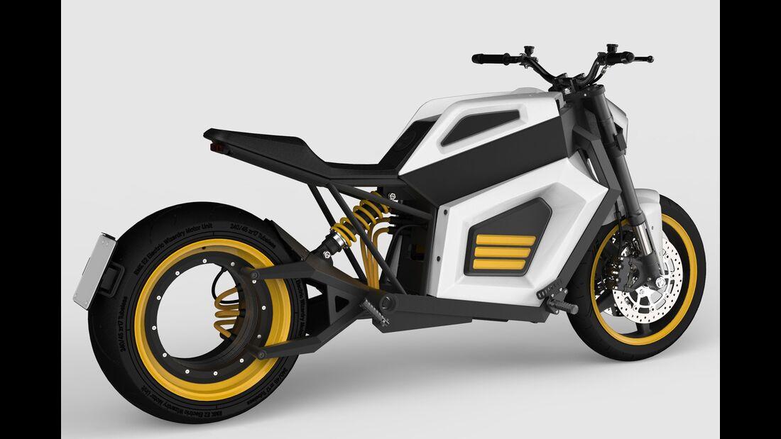 RMK E2 - Elektromotorrad aus Finnland.