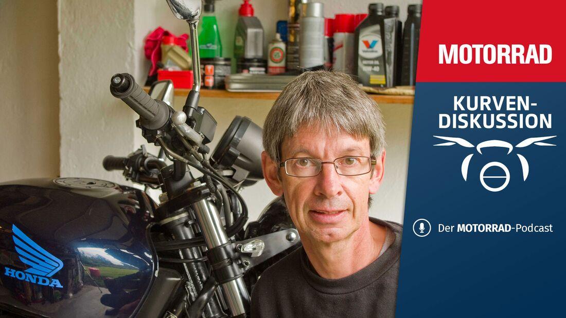 Ralf Petersen MOTORRAD-Podcast Kurvendiskussion