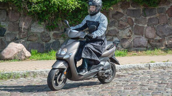 Regenmantel für Rollerfahrer Louis