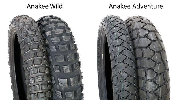 Reifentest 2019 Anakee Wild und Anakee Adventure