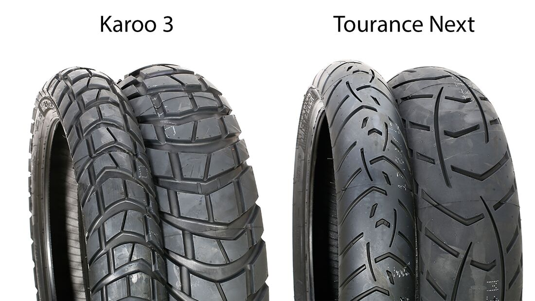 Reifentest 2019 Karoo 3 und Tourance Next