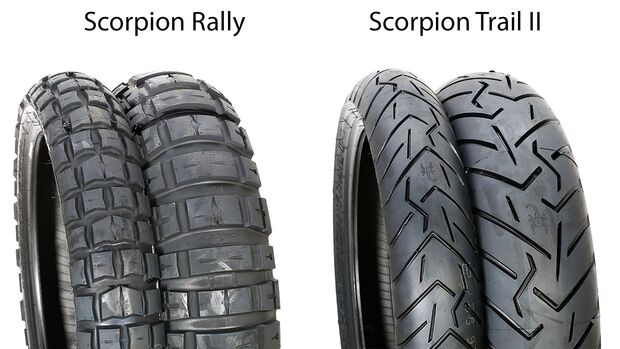 Reifentest 2019 Scorpion Rally und Scorpion Trail II