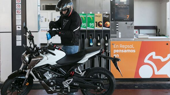 Repsol MotoStop Tankstelle