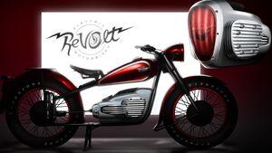 Revolt Retro-Elektromotorrad Teaser