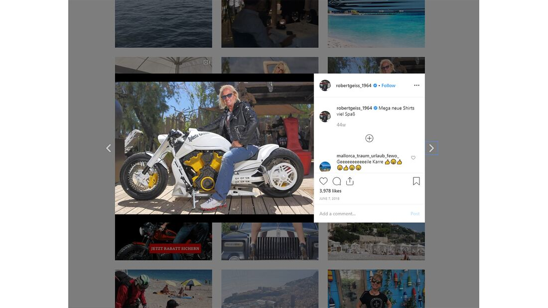 Robert Geiss Instagram