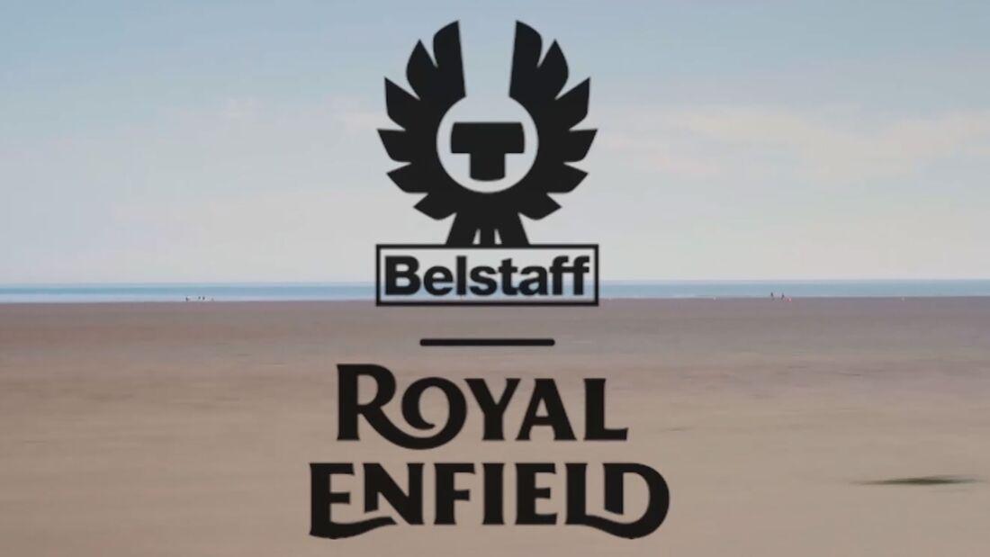 Royal Enfield Belstaff Bekleidungs-Kollektion
