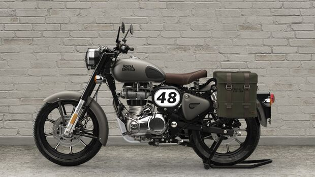 Royal Enfield Classic 350.