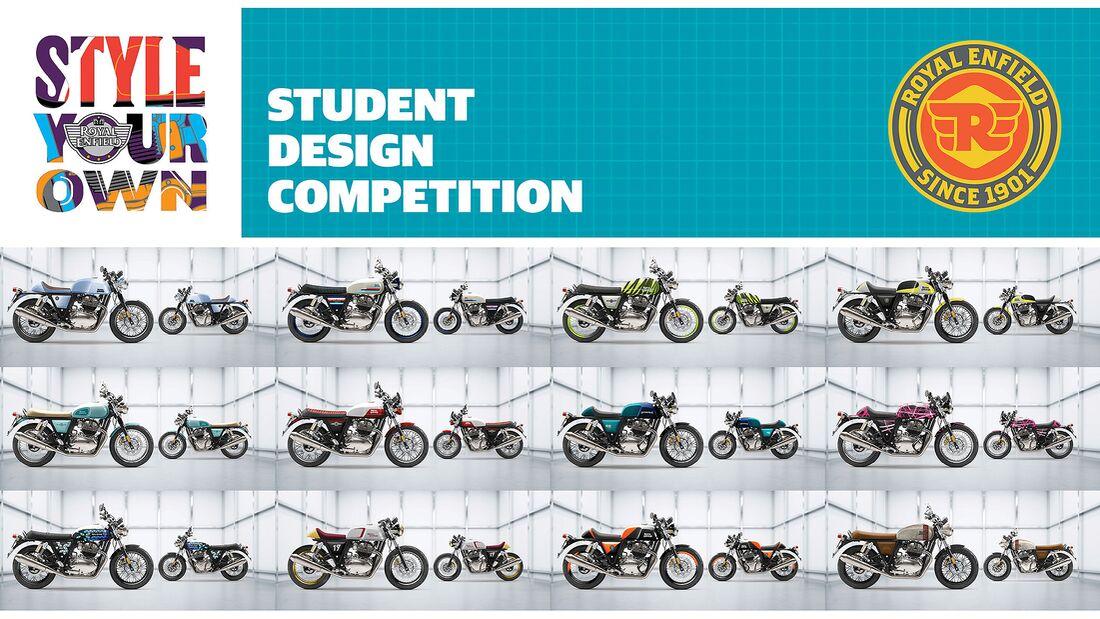 Royal Enfield Designwettbewerb