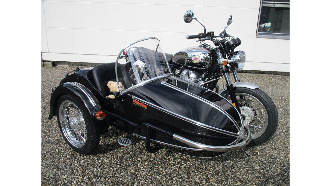 Royal Enfield Interceptor Gespann Iwan-Bikes