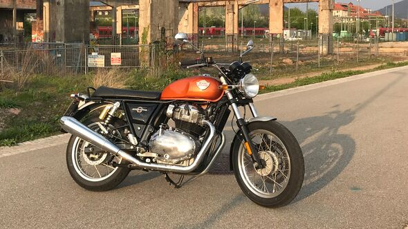 Royal Enfield Interceptor INT 650.