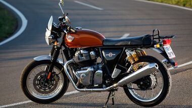 Royal Enfield Interceptor INT 650 im Dauertest
