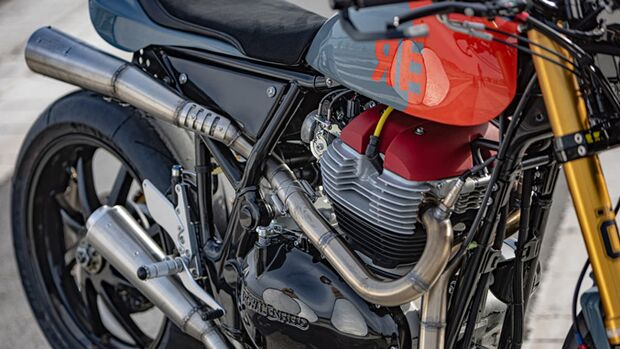 Royal Enfield Racer Crazy Garage
